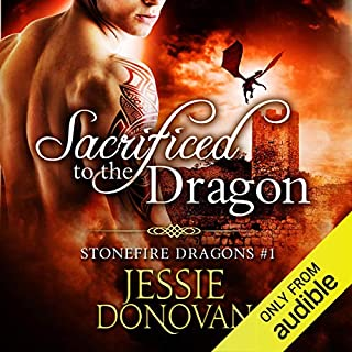 Sacrificed to the Dragon audiobook cover art