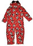 Minnie - pigiama intero minnie mis. 3- 4 - 6 - 8 anni disney inverno - 6-anni - rosso