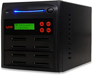 Systor 1 to 7 Multiple Compact Flash CF Memory Card Duplicator/Drive Copier - SYS-CFD-7
