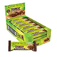 Crunchy bars for breakfast, morning snack or on-the-go snack Nature Valley Crunchy flavour Cereal Bars Better tasting bars with no artificial flavours, colours or preservatives Packed with natural wholegrain oats and real ingredients Suitable for veg...