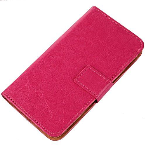 Gukas Design PU Flip Leder Tasche Hülle Für BQ Aquaris E4.5 / FNAC Smartphone 2 4.5