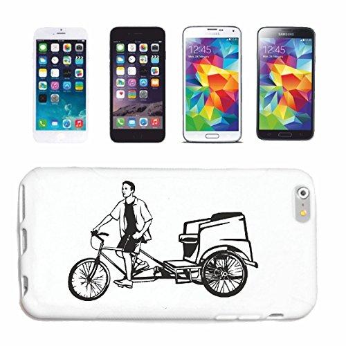 Reifen-Markt Hard Cover - Funda para teléfono móvil Compatible con Huawei P9 Silueta de la Bicicleta montaña de la Bicicleta REPARACIÓN DE Ciclo Sport Bike Tour EN