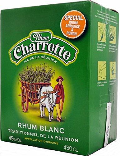 CHARRETTE RON BLANC0 49% BOX 4,5 LITROS