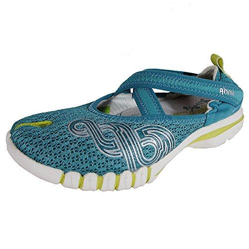 Ahnu Womens Yoga Split Cross Trainer Sneaker Shoes, Pure Atlantis, US 7.5