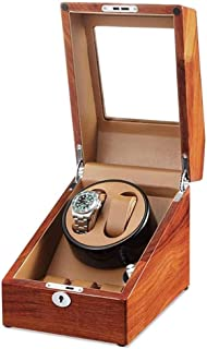 Watch Winder Watch Winder, Household Automatic Ultra Quiet 2+3 Rotate Motor Box Turn Table Device Mechanical Watches Winding Boxs