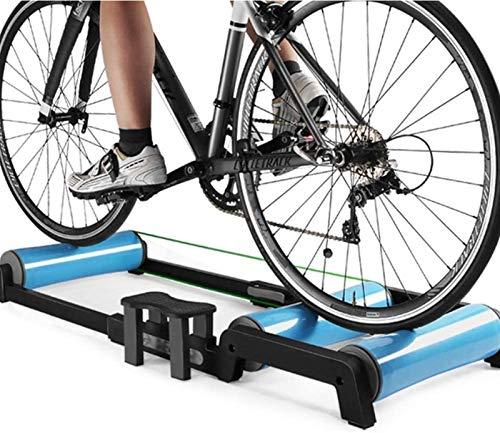 YZPJSQ Vélo Pliable Entraîneur - vélo Rouleaux vélo Pliable vélo Formation Support VTT Entraîneur Station Road Cyclisme Roller Vélo Exercice Résistance Machine d'exercice de Remise en Forme