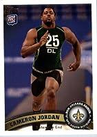 2011 Topps Football Card #349 Cameron Jordan RC - New Orleans Saints (RC - Rookie Card) NFL Trading Card