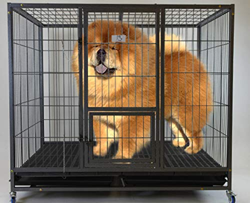 """Homey Pet 49"""" Stackable Heavy Duty Cage"""