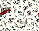 Disney Micky & Minnie Stoff, 100 % Baumwolle, halber Meter,