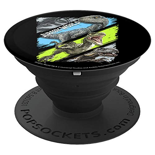 Jurassic World Two All The Predators PopSockets Grip and Stand for Phones and Tablets