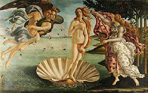 Rompecabezas Adultos Puzzle 1500 Piezas Puzzles De Madera   El Nacimiento De Venus Sandro Botticelli Niños Y Adultos