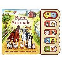 Farm Animals (8-Button Early Bird Switch Sound Book)