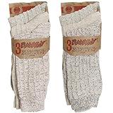 Brubaker - Lote de 6 calcetines bio para hombre, 100% algodón Socken meliert 39-42