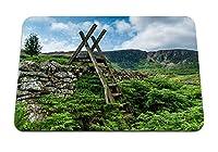 22cmx18cm マウスパッド (ウェールズガンルウィドスノードニア) パターンカスタムの マウスパッド