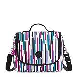 Kipling Kichirou Insulated Lunch Bag, Urban Stripe, 9'L X 8'H X 5'D