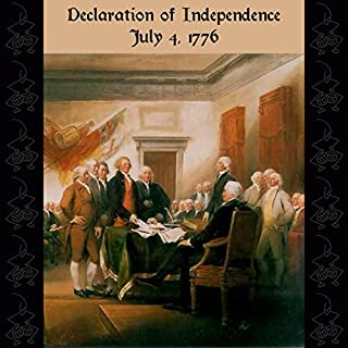 Declaration of Independence audiobook cover art