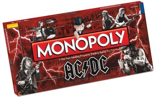 AC/DC Monopoly by Monopoly [Toy] (English Manual)