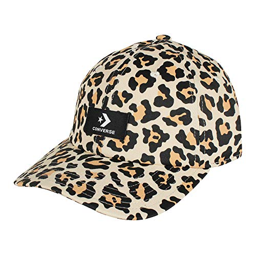 Converse Unisex Gorra de béisbol Evergreen Print Baseball Cap Leopard