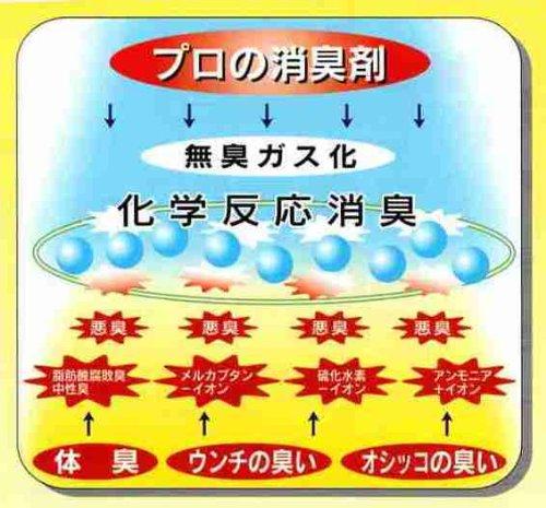 常陸化工プロの消臭剤無香料本体250ml