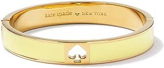 Kate Spade New York Hole Punch Spade Bangle Bracelet (Yellow)