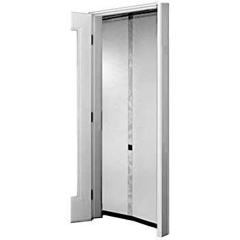 x 80 in Snavely Forest 38 in Black Easy to Install Instant Screen Door with Hardware Included HMD