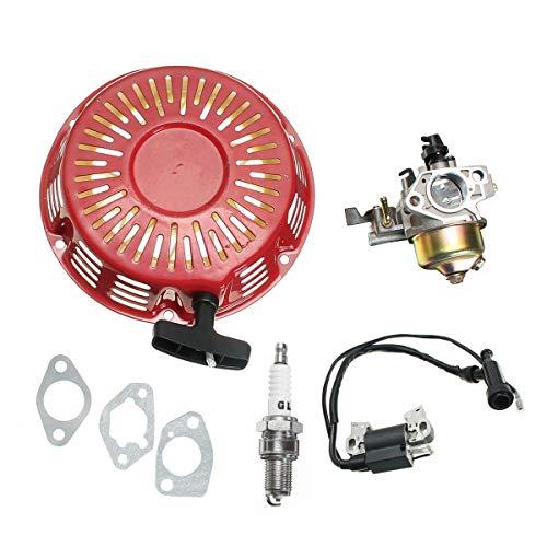 Motorrad-Komponenten Vergaser & Pull Starter Recoil & Zündspule Fit for GX340 11HP GX390 13HP, Top-Qualität