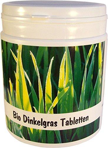 SANOS Bio Dinkelgras Tabletten 500g / 1250 Tabletten frisch vom Bodensee