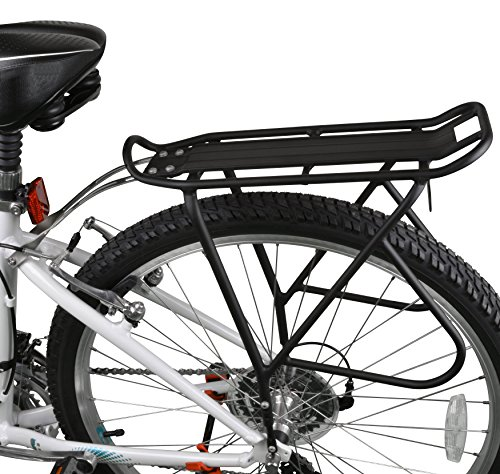 51U28vQ6alL Ibera Bike Rack – Bicycle Touring Carrier with Fender Board