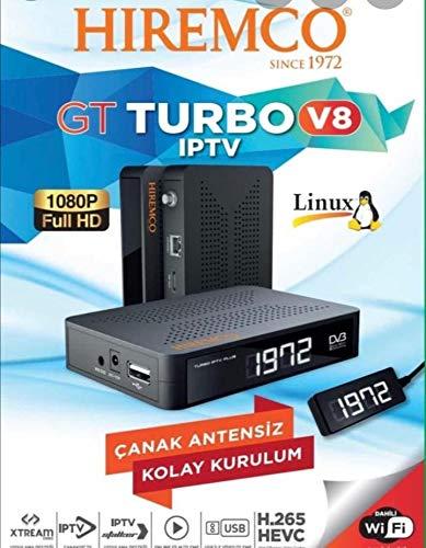 Hiremco GT Turbo SAT TV Receiver iptv Box Netflix SMART TV Türkische Deutsche Arabische Russische Französich Ex Jugoslawien UK USA Polnische