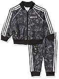 adidas Originals unisex-baby Goofy SST Set Black/White 9M