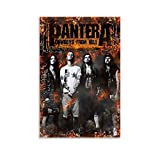 piaoran Pantera Poster Decorative Painting Canvas Wall Art Living Room Posters Bedroom Painting 16x24inch(40x60cm)