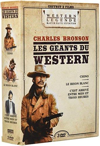 Charles Bronson - Les Géants du Western : Chino + C'est arrivé entre Midi et Trois Heures + Le Bison Blanc [Italia] [DVD]