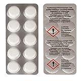 Aqualogis - Pastillas de limpieza compatibles con Krups XS3000, Jura, Bosch 00311970, Siemens TZ8001, Saeco CA6704, cafetera