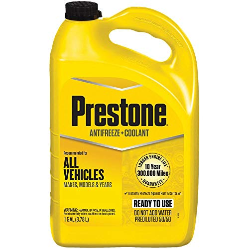Prestone Antifreeze Coolant,1 gal, 50/50