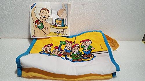 Kinder Überraschung, Badezimmerzwerge - WASCHBEUTEL aus dem Maxi - Ü - Ei ( Serie von 1999 )