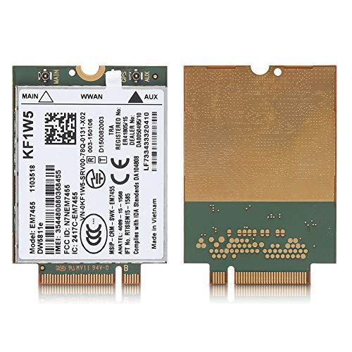 VBESTLIFE Sostituzione Wireless EM7455 per dell DW5811e Qualcomm 4G LTE WWAN NGFF Card Module