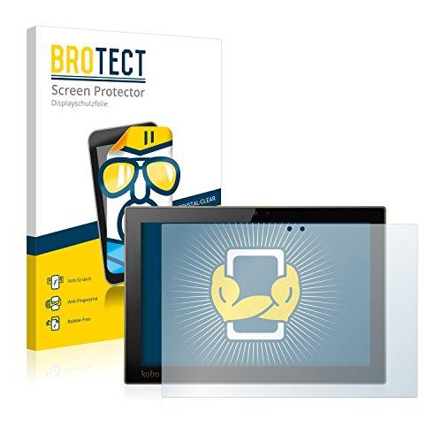 BROTECT Schutzfolie kompatibel mit Kobo Arc 10HD (2 Stück) klare Displayschutz-Folie
