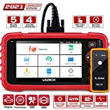LAUNCH OBD2 Scanner -CRP129X Scan Tool Car Code Reader for Engine Transmission ABS SRS with Oil/EPB/SAS/TPMS/Throttle Body Reset Car Diagnostic Tool with TPMS Gift, AutoVIN,Wi-Fi Free Updates