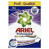 Ariel Detergente en polvo profesional para ropa de color, 7,15 kg, 110 lavados