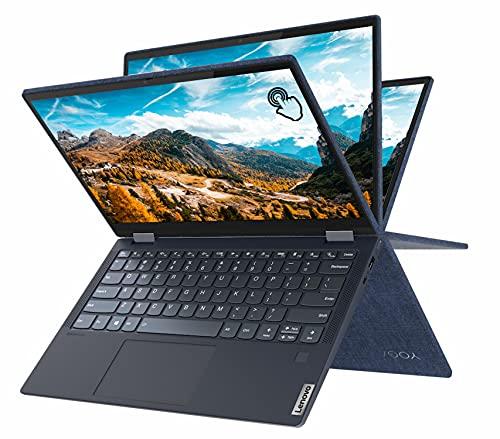 2021 Il più recente laptop Lenovo Yoga 6 da 13.3 'FHD IPS Touchscreen 300 nit, Ryzen 8 7U a 4700 core (Beat i7-10750H), 16 GB di RAM SSD da 1 TB, lettore di impronte digitali Webcam WiFi Win 10 con accessori Ghost Manta