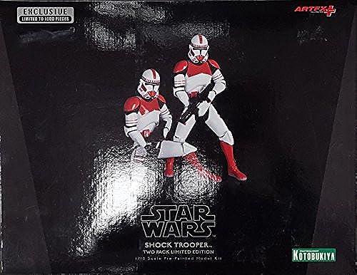 Wondercon Exclusive Star Wars Shock Trooper 2-Pack ArtFx+ Statue by Kotobukiya by Action Figure Xpress