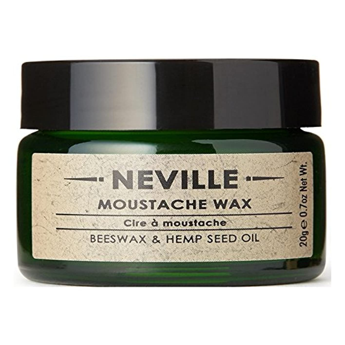 膜ナインへ落ち着いたNeville Moustache Wax - ネビル口ひげワックス [並行輸入品]