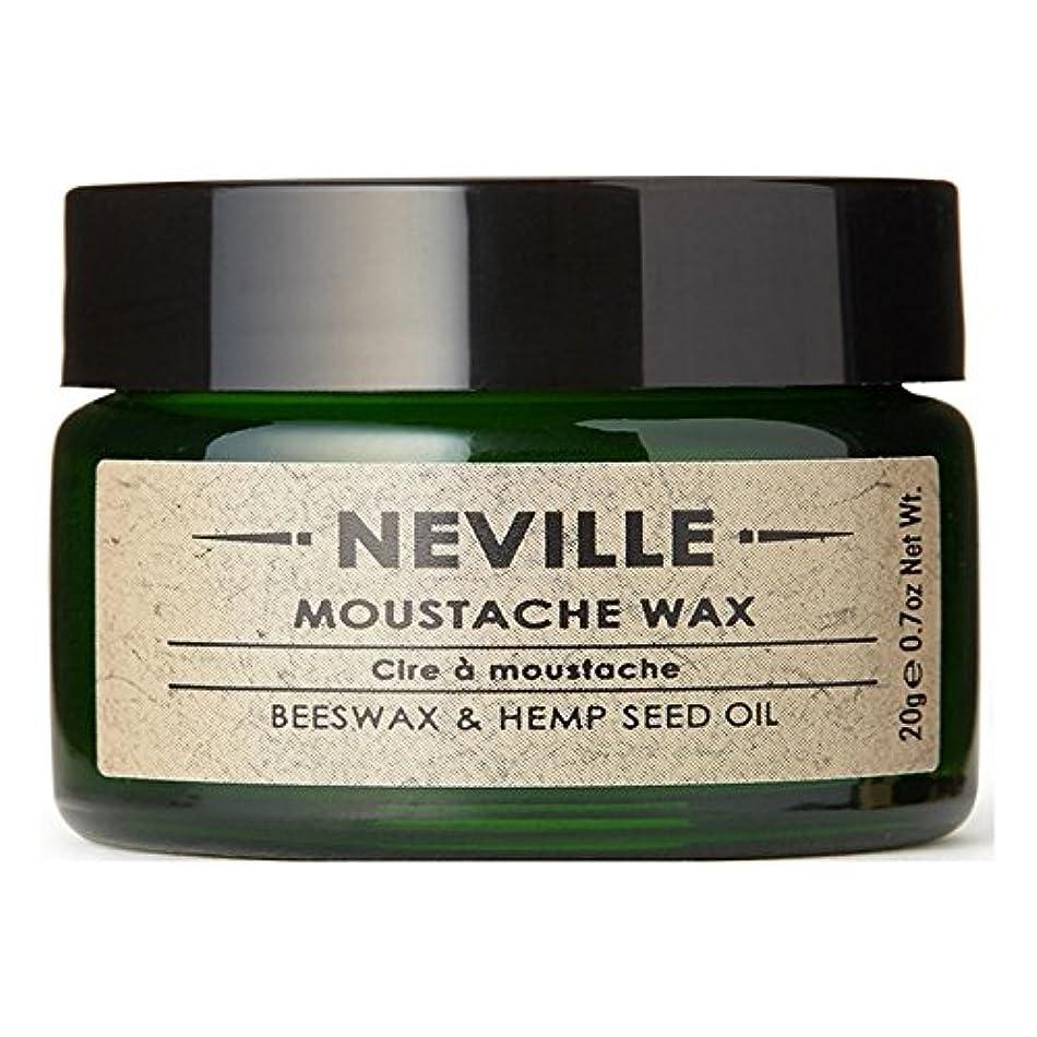 永続ミンチ十分にネビル口ひげワックス x2 - Neville Moustache Wax (Pack of 2) [並行輸入品]