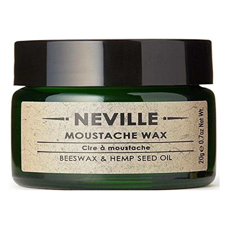 東部シャッフル士気ネビル口ひげワックス x4 - Neville Moustache Wax (Pack of 4) [並行輸入品]
