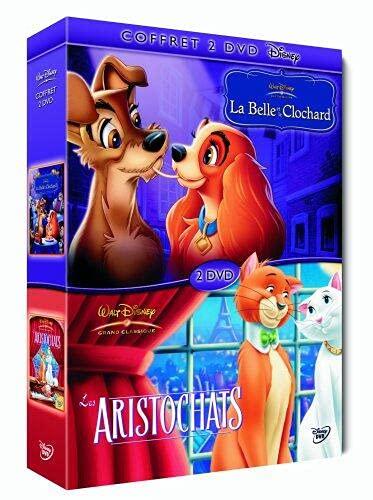La Belle et le clochard + Les Aristochats [Francia] [DVD]