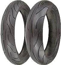 Michelin Pilot Power 120/70zr17 & 180/55zr17 180 55 17 120 70 17 2 Tire Set