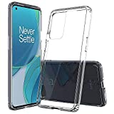 Sucnakp oneplus 9 pro Case one Plus 9 pro Case 1+ 9 pro Case Premium Clear Back Panel + TPU Bumper Cover for oneplus 9 pro(YKL Clear)