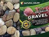 Colore Naturale Acquario Pietre ciottoli substrato Ghiaia, 1–2cm, 5kg...