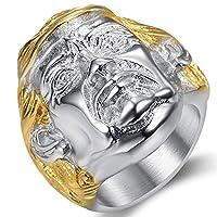 Jude Jewelers ステンレススチール 米国大統領ドナルトランプカクテルパーティー2020 選挙リング