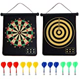 Kids Game Dart Board Set 8 Sticky Balls and...